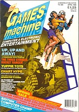 The Games Machine 5 (Apr 1988) front cover