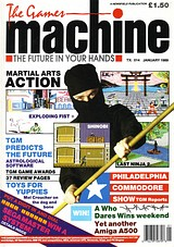 The Games Machine 14 (Jan 1989) front cover
