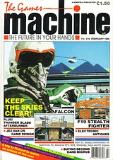 The Games Machine 15 (Feb 1989) front cover