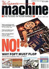The Games Machine 17 (Apr 1989) front cover