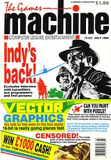 The Games Machine 20 (Jul 1989) front cover