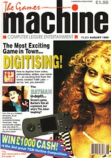The Games Machine 21 (Aug 1989) front cover