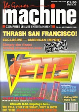 The Games Machine 24 (Nov 1989) front cover