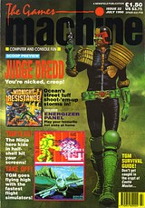 The Games Machine 32 (Jul 1990) front cover