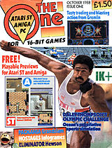 The One for 16-bit Games 1 (Oct 1988) front cover