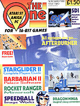 The One for 16-bit Games 2 (Nov 1988) front cover