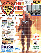 The One for 16-bit Games 4 (Jan 1989) front cover