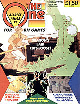 The One for 16-bit Games 5 (Feb 1989) front cover