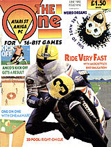 The One for 16-bit Games 9 (Jun 1989) front cover