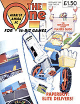 The One for 16-bit Games 12 (Sep 1989) front cover