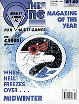 The One for 16-bit Games 17 (Feb 1990) front cover