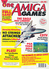 The One for Amiga Games 32 (May 1991) front cover