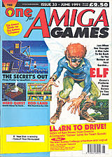 The One for Amiga Games 33 (Jun 1991) front cover