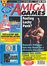 The One for Amiga Games 37 (Oct 1991) front cover