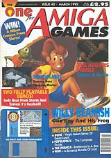 The One for Amiga Games 42 (Mar 1992) front cover