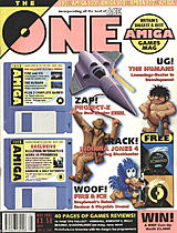 The One Amiga 44 (May 1992) front cover