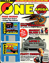 The One Amiga 46 (Jul 1992) front cover