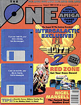 The One Amiga 47 (Aug 1992) front cover