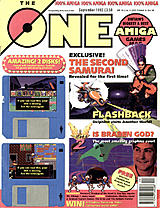 The One Amiga 48 (Sep 1992) front cover