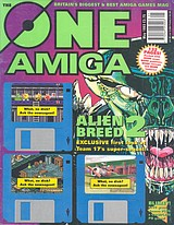 The One Amiga 56 (May 1993) front cover