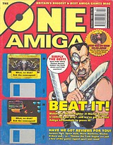 The One Amiga 61 (Oct 1993) front cover