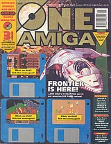 The One Amiga 62 (Nov 1993) front cover