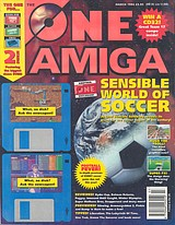 The One Amiga 66 (Mar 1994) front cover
