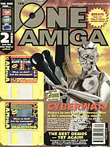 The One Amiga 72 (Sep 1994) front cover