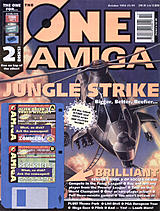 The One Amiga 73 (Oct 1994) front cover