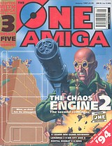 The One Amiga 76 (Jan 1995) front cover