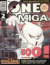 The One Amiga 77 (Feb 1995) front cover