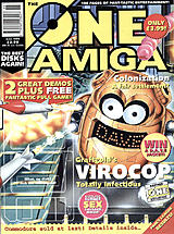 The One Amiga 81 (Jun 1995) front cover