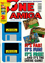 The One Amiga Maverick 84 (Sep 1995) front cover