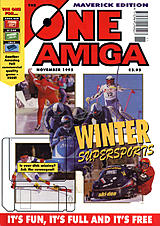 The One Amiga Maverick 86 (Nov 1995) front cover