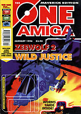 The One Amiga Maverick 89 (Jan 1996) front cover