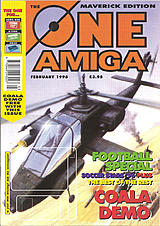 The One Amiga Maverick 90 (Feb 1996) front cover
