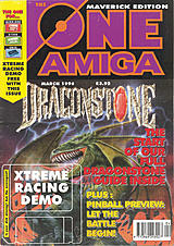 The One Amiga Maverick 91 (Mar 1996) front cover