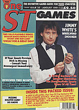 The One for ST Games 35 (Aug 1991) front cover