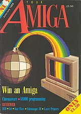 Your Amiga (Jun - Jul 1988) front cover