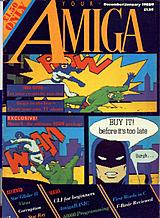 Your Amiga (Dec 1988 - Jan 1989) front cover