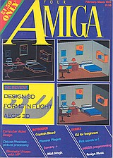 Your Amiga (Feb - Mar 1989) front cover