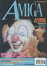 Your Amiga (Jun 1989) front cover